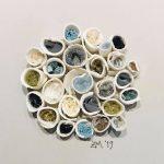 Small porcelain tubes(bluegrey)