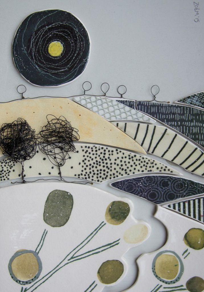 Harvest Landscape ceramic