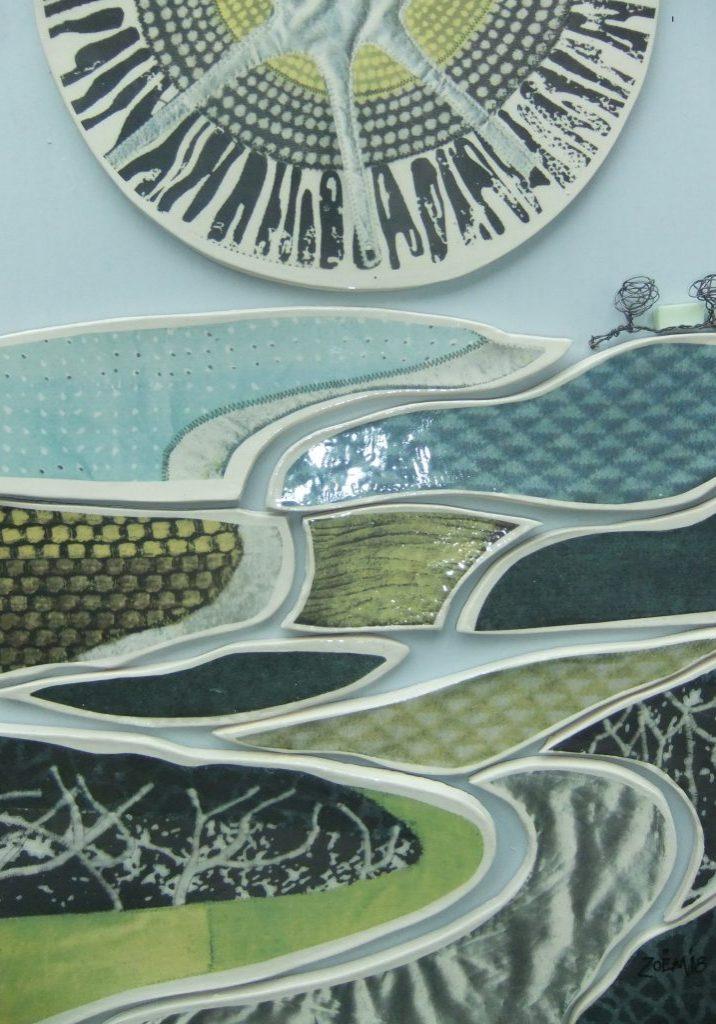 Silver Morning ceramic