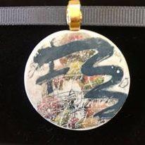 circular pendant (close up)